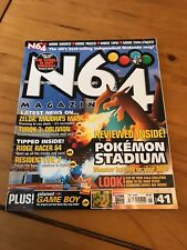 N64 Magazine - Issue 41 - Nintendo, N64, Game Boy - May 2000 - Pokemon Stadium