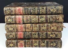 MEMOIRES DE MAXIMILIEN DE BÉTHUNE DUC DE SULLY. 5 VOLUMES (VOIR DESCRIP).1778
