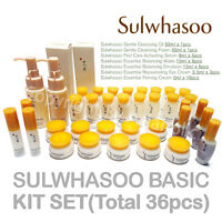 Sulwhasoo Popular No.1 Basic Kit (Total 36pcs) Sample AMORE PACIFIC Newist Ver