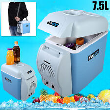 Portable 7.5L Car Fridge Freezer Cooler Warmer Mini Boat Camping Refrigerator AU