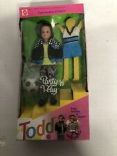 1992 Party n Play Todd Twin Brother Of Stacie Barbie Doll Mattel #7903 NEW Open
