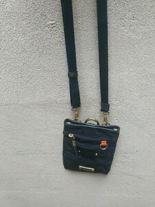 Tumi Crossbody Shoulder Bag Blue Nylon