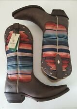 Ariat 4LR Circuit Serape Western Boots Multi-color Size  7B