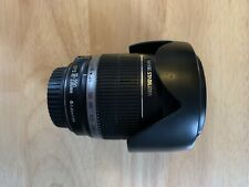 Rare, Mint condition Canon EF-S 18-200mm f/3.5-5.6 IS Lens with caps and hood.