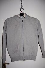 M&S Fleece Lined Zip Up Hoodie Grey Marl Age 13-14 Years New **Shop Soiled**