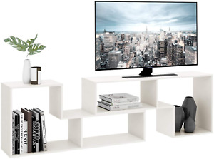 TV Console Stand, Modern Entertainment Center Media Stand, TV Table Storage