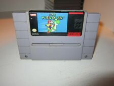 Super Mario World SNES (Super Nintendo 1990) Game only