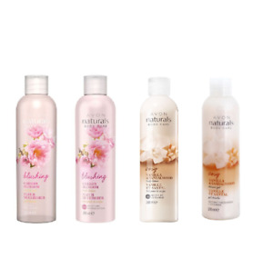 Avon Naturals Body Lotion and matching shower gel set 200ml each