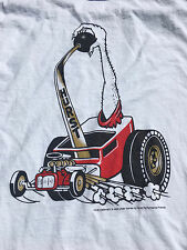 Hurst Shifter T-Shirt Beware Floor Shift Mopar Retro Hot Rod Racing Rat Rod SZ L