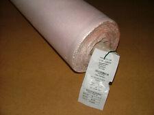 Laura Ashley Bacall Blush Pink Linen Blend Fabric Curtain Upholstery Cushion