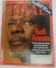 Time Magazine Kofi Annan Arctic Meltdown September 2000 042015R
