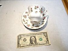 vintage Royal Albert Winsome Bone China Cup & Saucer Set Made in England - NR
