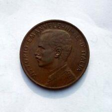 Moneta autentica Regno d'Italia 5 Centesimi Vittorio Emanuele III 1909