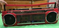 Sharp Tape AM FM Cassette Recorder Stereo Radio Boombox Blaster WQ-276 READ DES!
