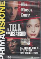 Dvd **LA TELA DELL'ASSASSINO** con Samuel L. Jackson nuovo 2004