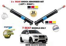 für BMW X5 E70 7 Personen Modelle 2006-2013 2 x Hinterer Stoßdämpfer Shocker Set