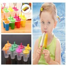 8 Cell Silicone Ice Cream Mold Juice Popsicle Maker Ice Lolly Mould 2020