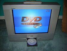 "RCA Tru Flat 20"" CRT TV Television 20F510TD w DVD player & REMOTE(RETRO GAMING)"