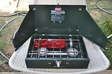 Colemen 425 F Two Burner Gas Camping Travel Stove 03 / 1989