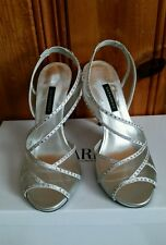 Caparros shoes for womens.  Size 7. Silver Metallic.  RETAIL $ 89.00