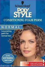 Schwarzkopf Poly Style Conditioning Foam Perm - Normal Hair