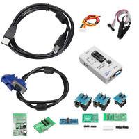 RT809F Set Universal EPROM FLASH VGA ISP AVR Programmer Clip + 7 Adapter Socket