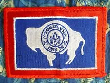 Patch- The State of Wyoming Great Seal Patch New*