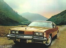 1976 Oldsmobile TORONDO/98/Delta 88/Cruiser Wagon Brochure/Catalog w/Color Chart