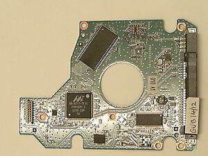 PCB Toshiba MK2046GSX HDD2D94 B UR01 S; FW 010 A0/LB013M; Chip 88i6717-TFJ1