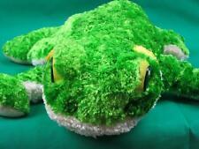 BIG ASHDON FARMS GREEN YELLOW FROG FLOPPY LEGS SOFT LOVEY PLUSH STUFFED ANIMAL