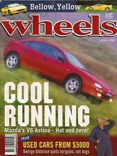 Wheels Aug 94 v6 323 Astina Calibra Turbo WRX GT4 GSR F355  News: -	Ford's 5.0 a