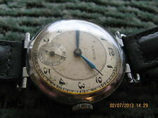 Rare Lanco Langendorf huge swinging lugs vintage wristwatch,38,5mm/50mm,30y/XXc