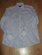 "Pierre Cardin Lilac Long Sleeve Shirt Size 16"" Collar"