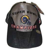 NWT 2000 Super Bowl Champions St. Louis Los Angeles Rams Cap Hat Adult NFL A.T.A