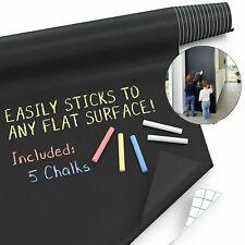 Chalkboard Paint Wall Sticker (6.6FT) Blackboard Paint Chalk Board Contact Paper