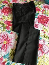 Puma Golf Mens 4 pocket Performance Black Pants Size 30W x 32L