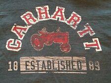CARHARTT LS Pull-Over Shirt - green - Mens sz L
