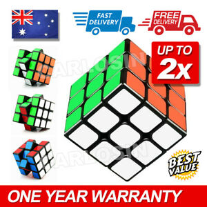 Magic Cube 3x3x3 Super Smooth Fast Speed Puzzle Rubix Rubics Rubik Toy AU STOCK