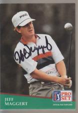 Autographed 1991 Pro Set Jeff Maggert