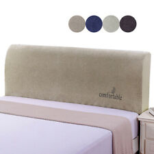 1PC Headboard Solid Dustproof Stretch Bed Head Covers Slipcover Protector Cover*