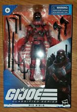 Gi joe Classified Series Red Ninja Figure 2020 Hasbro