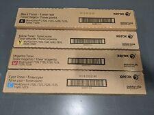 Xerox Genuine Toner Set - CMYK 6R1453 6R1454 6R1455 6R1456 7120 7125 7220 7225