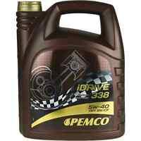 5L Pemco iDRIVE 338 5W-40 Motoröl Motorenöl VW 502.00/505.00 MB 229.1 ACEA A3/B4