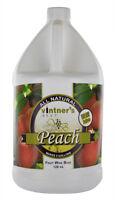 Vintners Best Fruit Wine Base Peach for Home Wine Making 128 oz. Jug