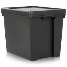 Wham Bam 24 L Duty Box with Lid - Black
