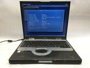 """Compaq Evo N800w 15"""" Laptop Intel Pentium 4M 2.2Ghz 1GB RAM - BOOTS -JJ"""