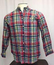 American Living Vintage Button Down Long Sleeve Flannel Shirt Plaid Men's XL