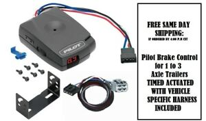 80550 Pro Series Brake control with Wiring Harness 3050 FOR 2004-2019 Nissan