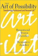 """THE ART OF POSSIBILITY"" - ROSAMUND ZANDER - HARD COVER - LIKE NEW! Free ship!"
