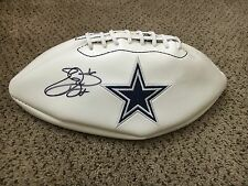 Emmitt Smith, Dallas Cowboys Autographed Logo Football W/JSA/COA